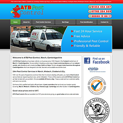 ATB Pest Control, March, Cambridgeshire