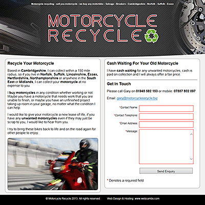 Motorcycle Recycle - Cambs