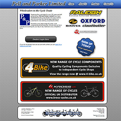 Pell and Parker Limited - Cycle Wholesalers Peterborough