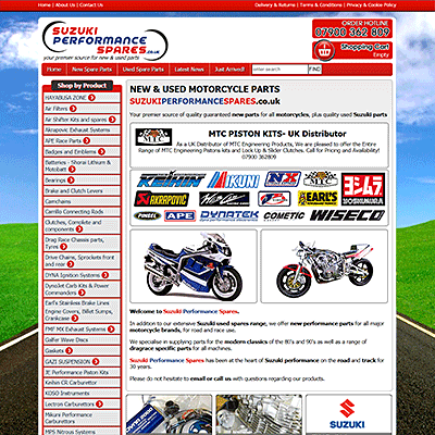 Quality guaranteed parts for all motorcycles - Elm, Wisbech