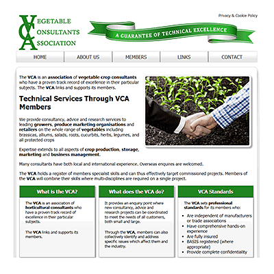 Association of Vegetable Crop Consultants